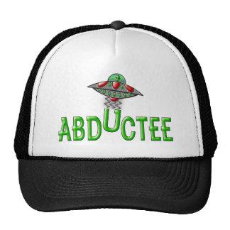 Abductee extranjero gorras de camionero
