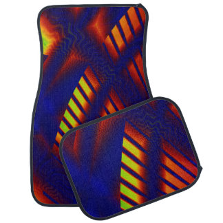 Abduction 3D Abstract Car Mat