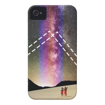 Beach Themed Abduction iPhone 4 Case