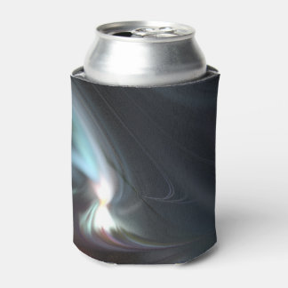 Abduction Muted Colors Fractal Can Cooler