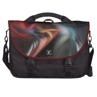Abduction Muted Colors Fractal Computer Bag