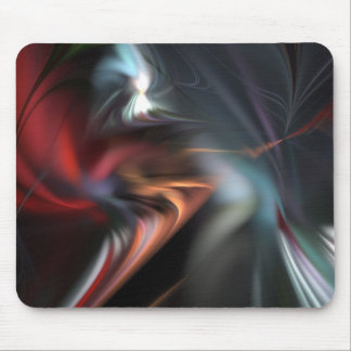 Abduction Muted Colors Fractal Mouse Pads