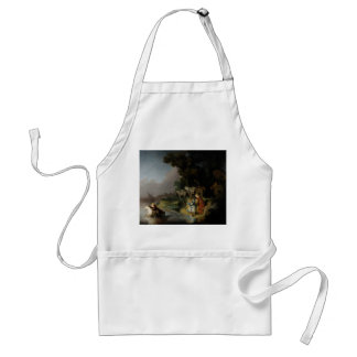 Abduction of Europa by Rembrandt Adult Apron