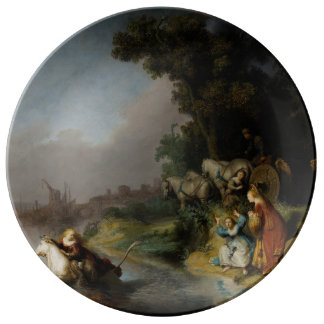 Abduction of Europa by Rembrandt Dinner Plate