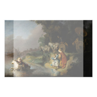 Abduction of Europa by Rembrandt Flyers
