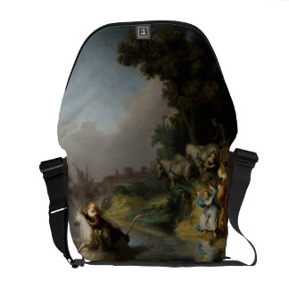 Abduction of Europa by Rembrandt Messenger Bag
