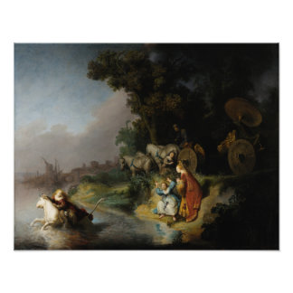 Abduction of Europa by Rembrandt Photo