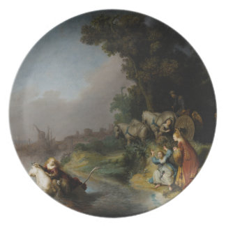 Abduction of Europa by Rembrandt Plate