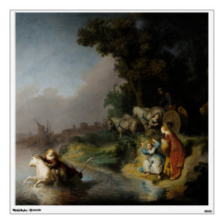 Abduction of Europa by Rembrandt Wall Sticker