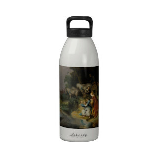 Abduction of Europa by Rembrandt Drinking Bottle