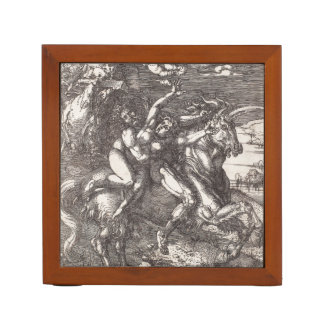 Abduction of Proserpine on a Unicorn by Durer Pencil Holder
