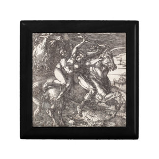 Abduction of Proserpine on a Unicorn by Durer Jewelry Box