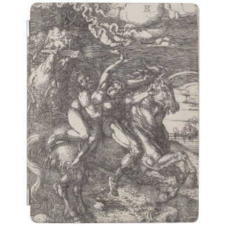 Abduction of Proserpine on a Unicorn by Durer iPad Cover