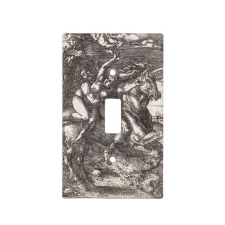 Abduction of Proserpine on a Unicorn by Durer Light Switch Plate