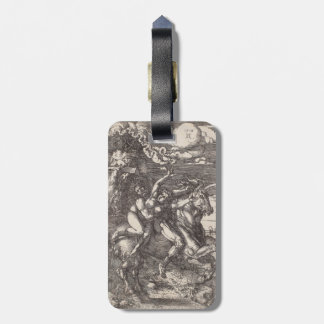 Abduction of Proserpine on a Unicorn by Durer Luggage Tags