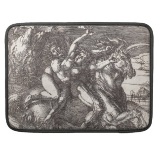 Abduction of Proserpine on a Unicorn by Durer MacBook Pro Sleeves