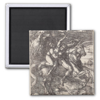 Abduction of Proserpine on a Unicorn by Durer Refrigerator Magnet