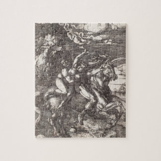 Abduction of Proserpine on a Unicorn by Durer Jigsaw Puzzle