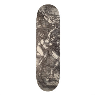 Abduction of Proserpine on a Unicorn by Durer Skateboard