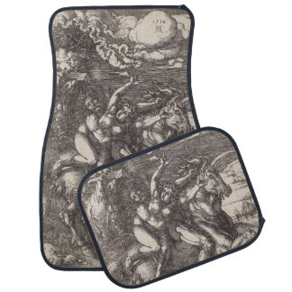Abduction of Proserpine on a Unicorn by Durer Car Mat