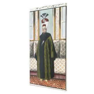 Abdul Hamid I (1725-89) Sultan 1774-89, from 'A Se Canvas Print