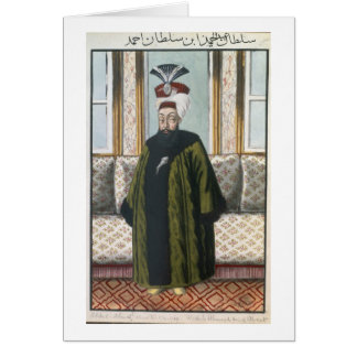 Abdul Hamid I (1725-89) Sultan 1774-89, from 'A Se Card