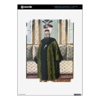 Abdul Hamid I (1725-89) Sultan 1774-89, from 'A Se iPad 3 Decal