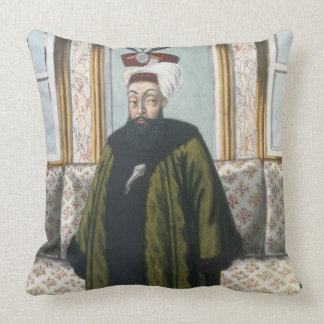 Abdul Hamid I (1725-89) Sultan 1774-89, from 'A Se Throw Pillow