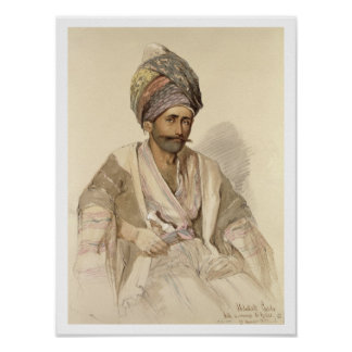 Abdullah - Kurd de Bitlis, 1852 Poster
