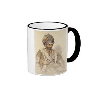 Abdullah - Kurd de Bitlis, 1852 Taza De Dos Colores