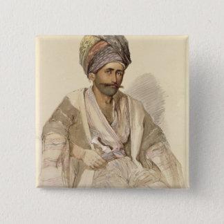 Abdullah - Kurd from Bitlis, 1852 Button