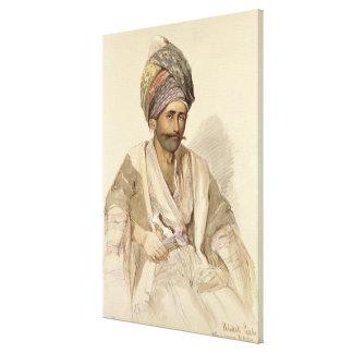 Abdullah - Kurd from Bitlis, 1852 Canvas Print