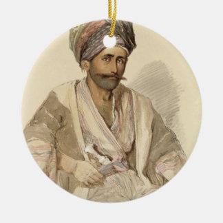 Abdullah - Kurd from Bitlis, 1852 Ceramic Ornament