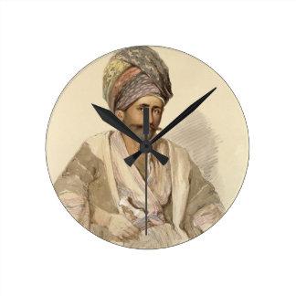 Abdullah - Kurd from Bitlis, 1852 Wall Clocks