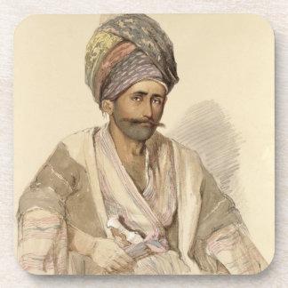 Abdullah - Kurd from Bitlis, 1852 Drink Coasters
