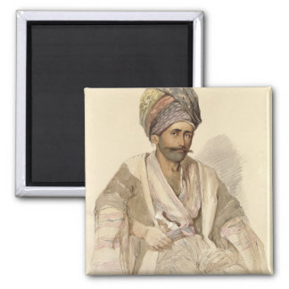 Abdullah - Kurd from Bitlis, 1852 Magnets
