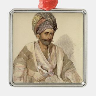 Abdullah - Kurd from Bitlis, 1852 Metal Ornament