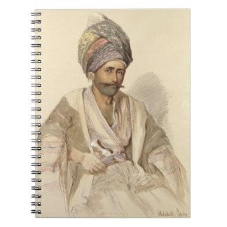 Abdullah - Kurd from Bitlis, 1852 Note Books
