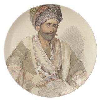 Abdullah - Kurd from Bitlis, 1852 Dinner Plate
