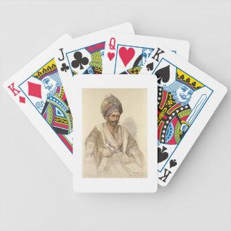 Abdullah - Kurd from Bitlis, 1852 Bicycle Card Deck