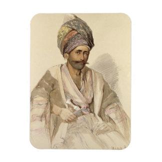 Abdullah - Kurd from Bitlis, 1852 Flexible Magnets