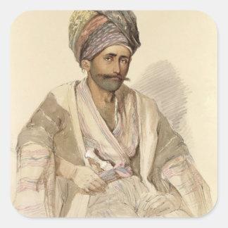 Abdullah - Kurd from Bitlis, 1852 Sticker