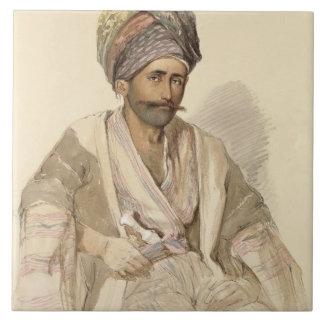 Abdullah - Kurd from Bitlis, 1852 Ceramic Tile