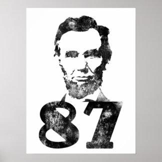 Abe 87 Poster