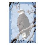 ABE Alaskan Bald Eagle Personalized Stationery