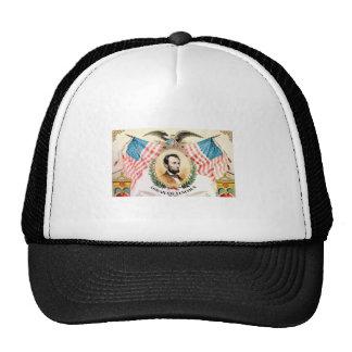 abe banner art trucker hat