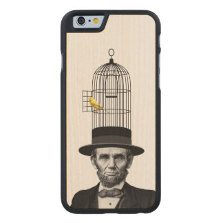 Abe Canary Carved Maple iPhone 6 Case