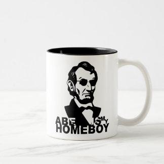Abe es mi Homeboy Tazas