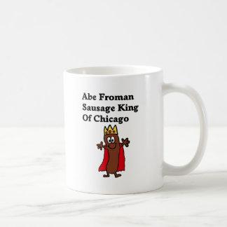 Abe Froman Sausage King of Chicago Coffee Mug
