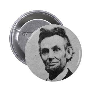 Abe honesto pin redondo de 2 pulgadas